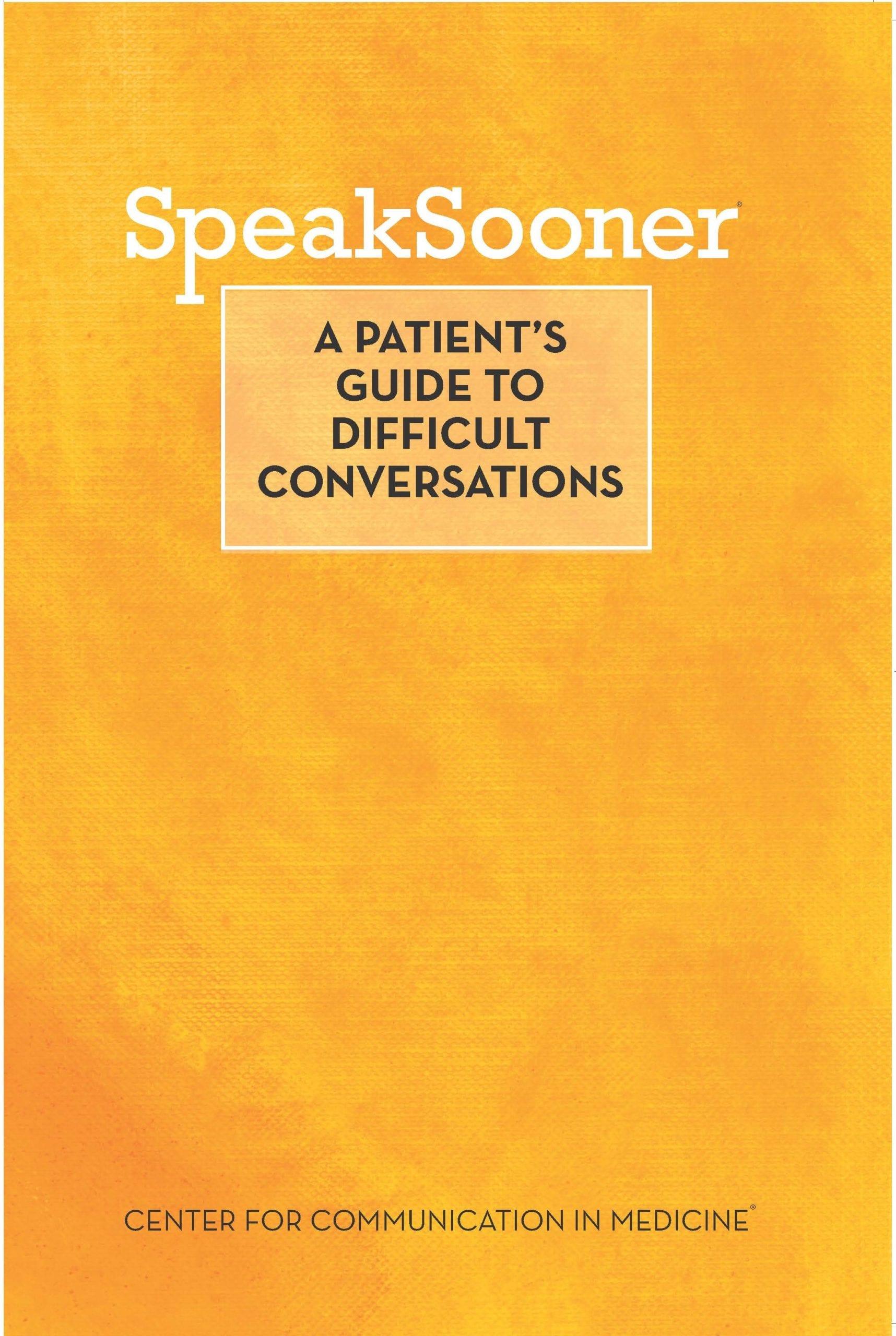 Speak Sooner - Guide cover